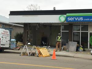 Legal ATM robbery extensively damages Servus Credit Union