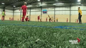 Edmonton mayoral hopeful proposes free recreation activities at city facilities (02:02)