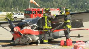 Small plane crashes into Nelson supermarket parking lot
