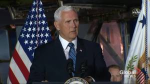 U.S. VP Pence says Space Command will launch next week
