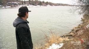 Saskatoon man hailed as a hero after rescue from frigid South Saskatchewan River (01:41)