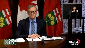 Ontario's top doctor outlines changes as Toronto, Peel, Sudbury, Thunder Bay and Lambton move into modified grey zone (04:31)