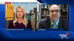 Political scientist says Kenney played 'politics with Alberta's COVID response' (03:56)