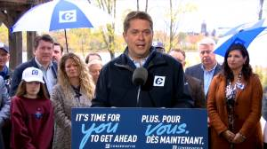 Canada Election 2019: Scheer questioned on spreading 'misinformation'