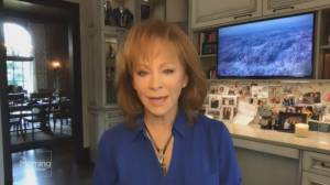 Checking in with country star Reba McEntire