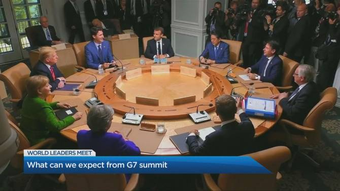 Summit in France to test unity among G7 leaders