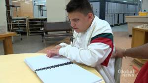 Donation helps support visually impaired students in Saskatchewan