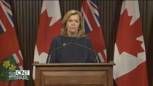 Coronavirus: Ontario health minister calls auditor general report 'mischaracterization' of COVID-19 response (04:52)