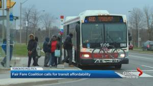 Fair Fare Coalition calls for transit affordability in Toronto
