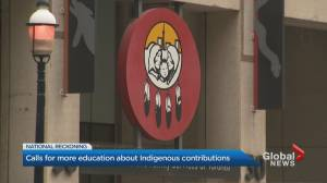 Calls for more education about Indigenous culture and history in Ontario (02:22)