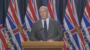 B.C. Premier John Horgan announces fall COVID-19 pandemic preparedness plan (04:00)