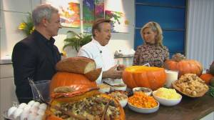 How to cook a cheese-stuffed pumpkin