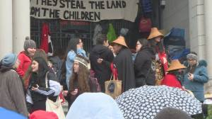 Rallies and protests held around B.C. in support of Wet'suwet'en blockade