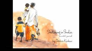 Local author publishes sketches/ journal of India trip