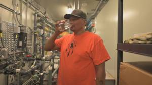 First Nation community taps into clean water supply (02:20)