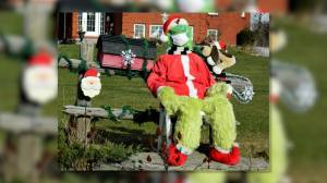 A Bath woman says a Grinch stole her life-size Grinch from her front yard (02:15)