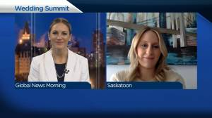 Virtual summit in Saskatchewan to help couples plan future weddings (03:03)