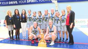 Holy Cross Crusaders win the Kingston-Area High School girls basketball championship