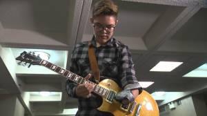 Northern Saskatchewan teen discovers his outlet through music (03:49)