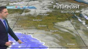 Play video: Staying below freezing: Oct. 20 Saskatchewan weather outlook