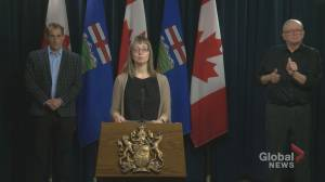 Alberta announces 67 new cases of COVID-19, 27 recoveries
