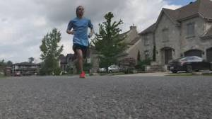 Quebec teen runs to raise money for hospital that helped him survive