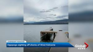 Odd wave or Ogopogo? Calgary resident records 'weird waves' on Okanagan Lake (02:01)
