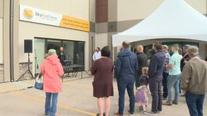 Solar industry rallies in Regina against SaskPower announcement