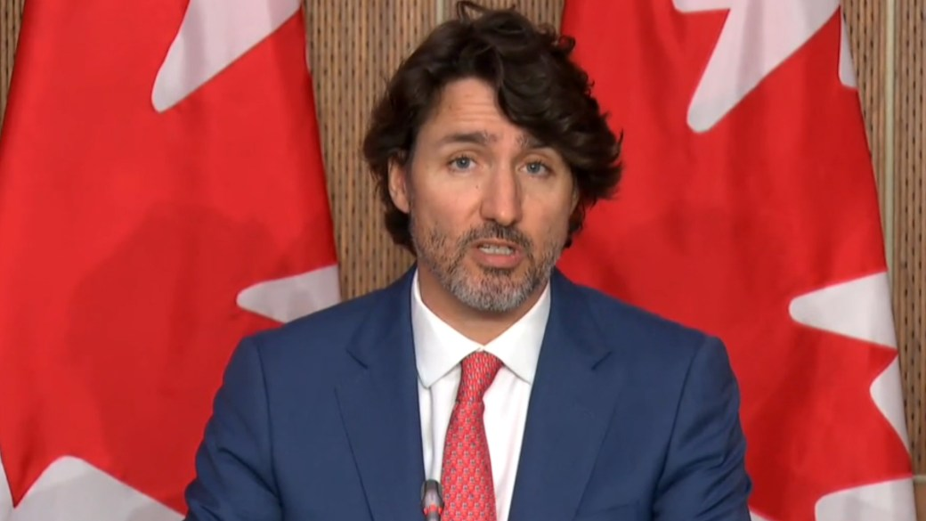Click to play video: 'Trudeau condemns arrest of Belarus journalist on Ryanair flight, calls behaviour 'an attack on democracy''