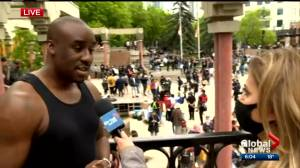 'I want them to know systematic racism is real': Black Lives Matter Calgary
