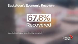 Saskatoon economy recovering but IMF warns of inflation (01:45)