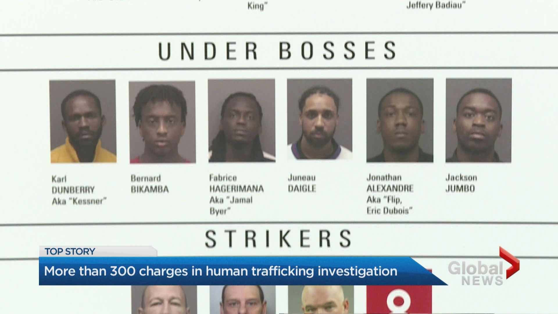 More than 300 charges laid in human trafficking investigation