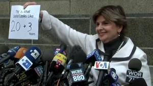 'This is what justice looks like': Gloria Allred commends Weinstein's 23-year sentence