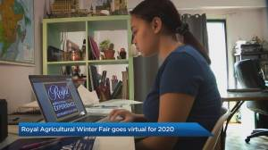 98th Royal Agriculture Winter Fair goes virtual for 2020 (04:18)