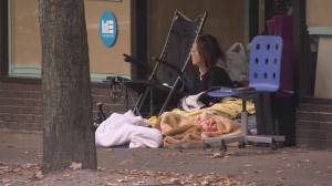 Coronavirus: Pandemic creating worse conditions for homeless as fall weather arrives (01:47)