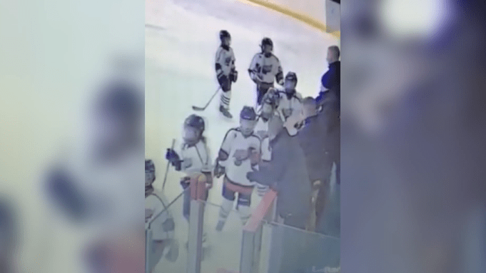 Caught on camera: Clarington coach allegedly hits opposing team's player during hockey tournament