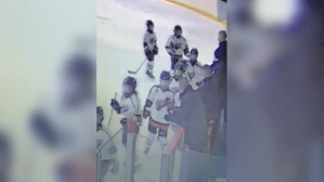 Mother speaks out after Clarington coach allegedly hits 10-year-old hockey player