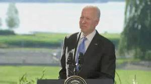 Russia will face consequences if cyberattacks happen again: Biden (02:01)