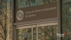 Quebec's largest pension fund manager posts profit despite COVID-19 uncertainty (01:42)