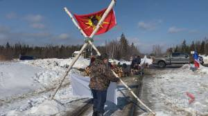 Rail blockade in Harcourt, N.B. dismantled as Wet'suwet'en supporters promise 'it's not over'