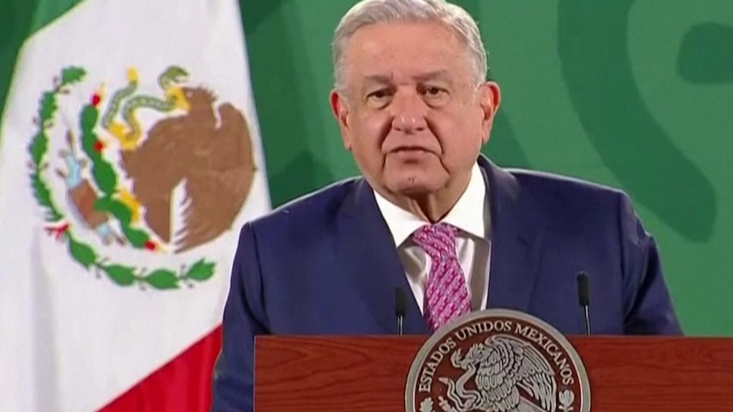 Click to play video: 'Coronavirus: Mexico's president thanks people for concern after COVID-19 infection'