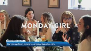 Digital social club 'Monday Girl' promotes mentorship diversity (05:02)