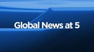 Global News at 5 Edmonton: Aug. 18 (09:50)