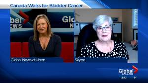 Canada Walks for Bladder Cancer fundraiser happening this weekend (02:41)