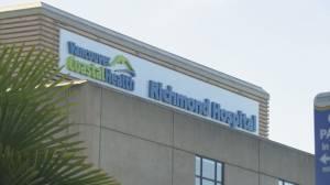 Premier John Horgan announces $860.8M for Richmond Hospital upgrade (01:06)