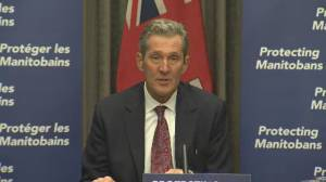 Coronavirus: Manitoba premier urges residents to 'buy local' for holiday shopping (00:43)