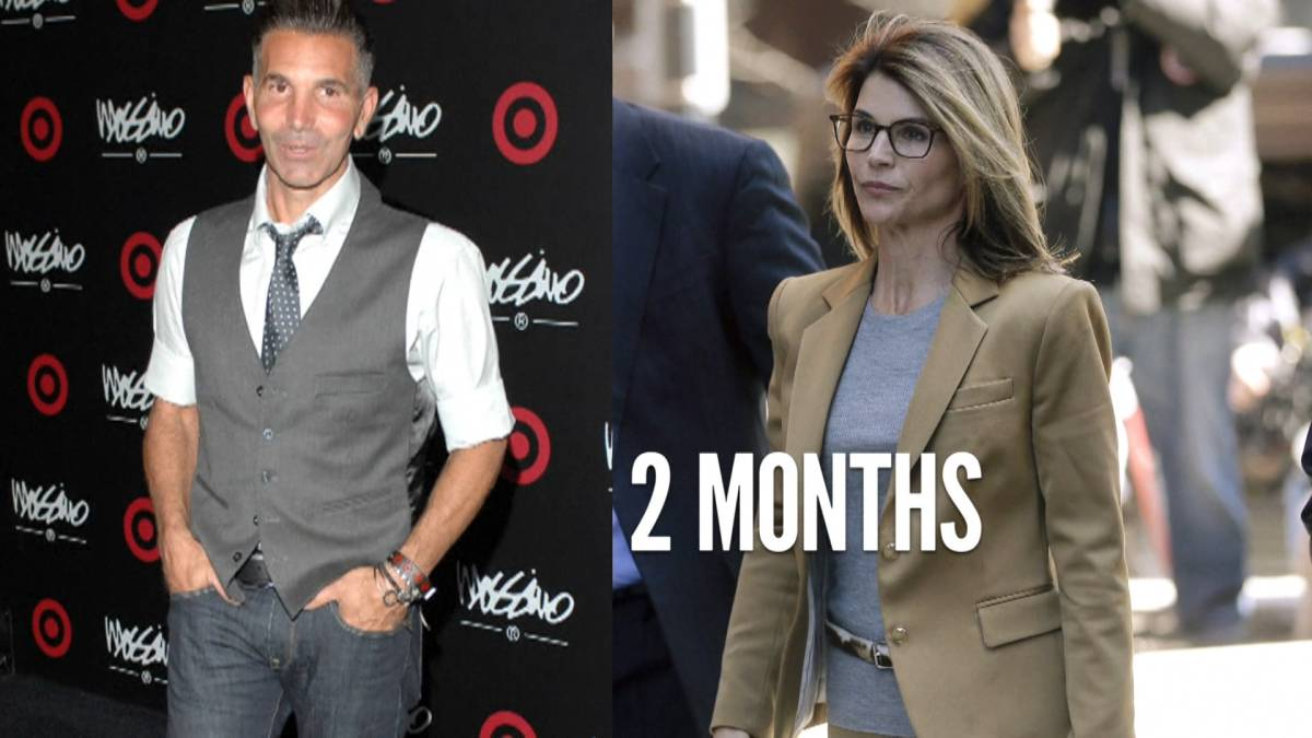Click to play video ''Full House' star Lori Loughlin, husband sentenced in college admissions scandal'