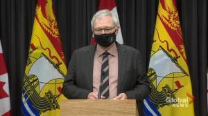 New Brunswick continues to see large numbers of COVID-19 cases (01:25)