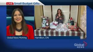 Holiday gift ideas that won't break the bank with beauty expert Natalie Sexton (04:29)