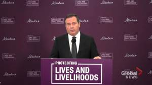 Amid scarce COVID-19 doses, Alberta focusses on vulnerable: Kenney responds firefighters' request for vaccine (02:20)